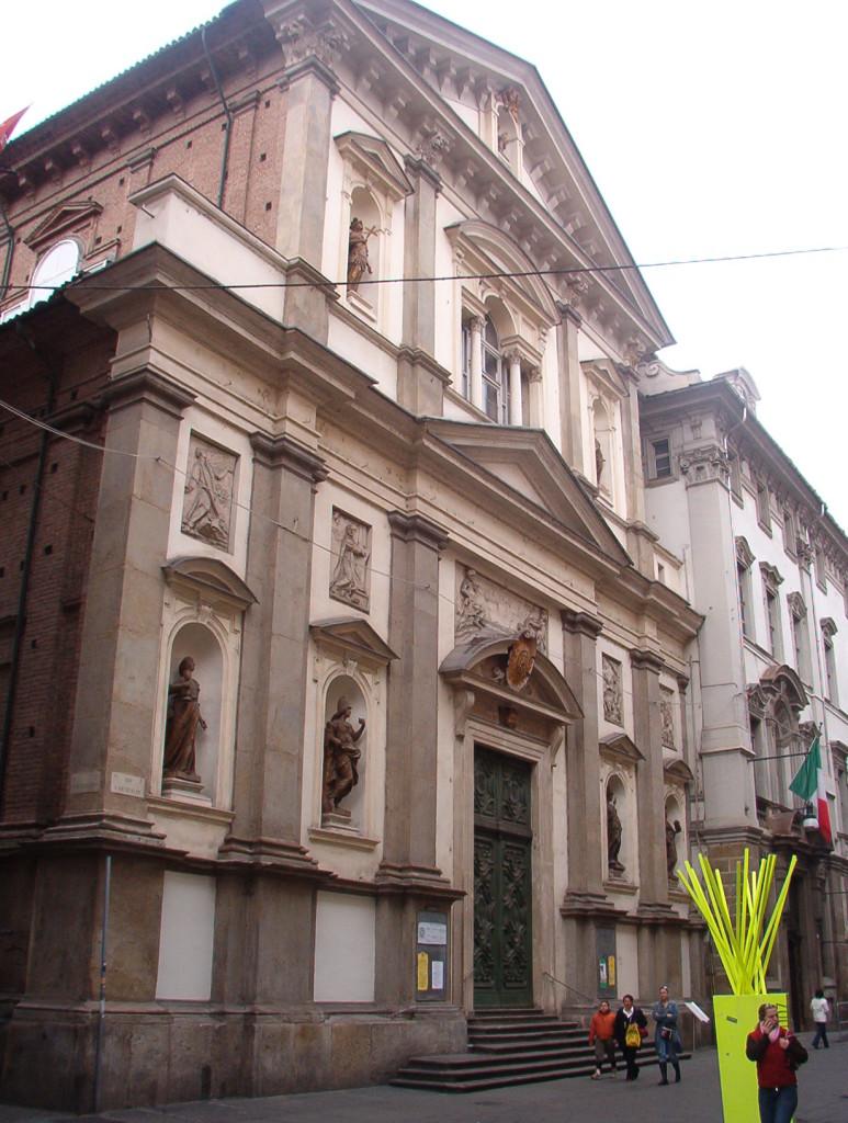 Facciata della chiesa dei Santi Martiri