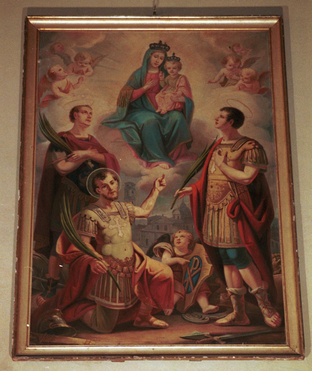 I santi Solutore, Avventore e Ottavio