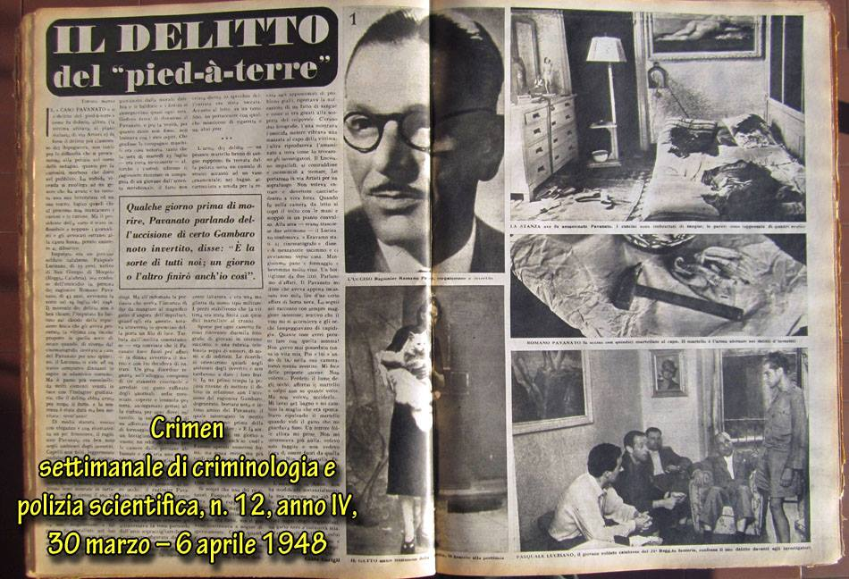 L'omicidio del pied-à-terre di via Artisti – Torino, 23 luglio 1946