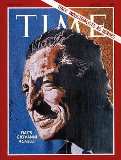 Photo of 17 Gennaio 1969: Giovanni Agnelli uomo copertina del Time
