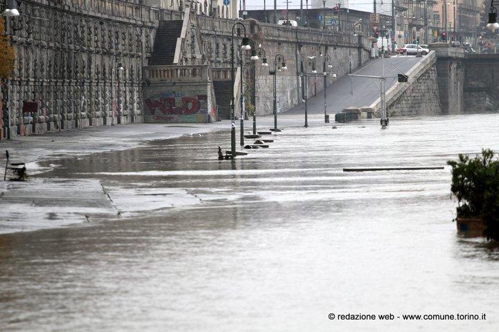 Continua a piovere: oggi allerta meteo a Torino e in Piemonte