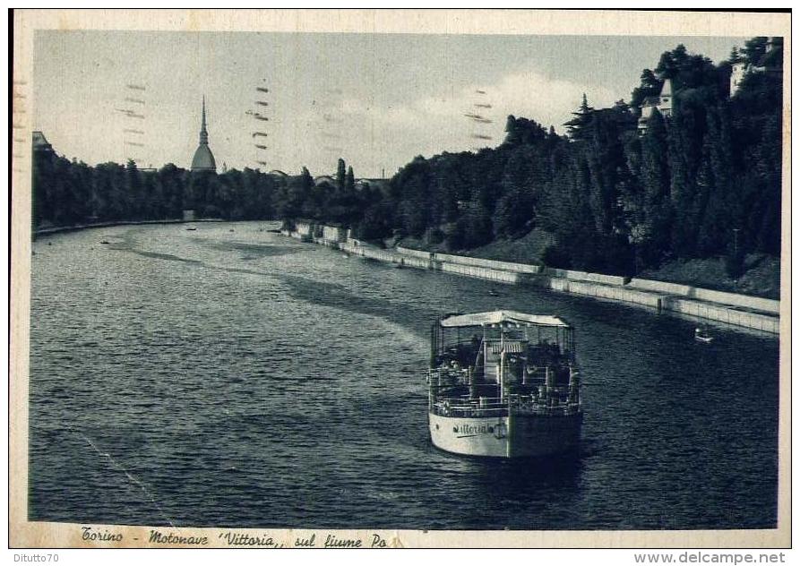 2 maggio 1940: il naufragio della motonave Vittoria nel Po