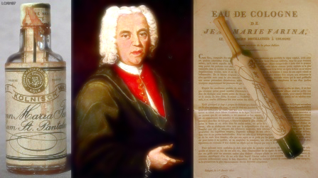 8 dicembre 1685: nasce Giovanni Maria Farina, inventore dell'Eau de Cologne