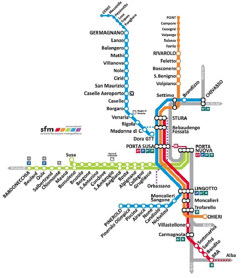 Orbassano-Porta Susa in 15 minuti: la linea SFM5 è realtà