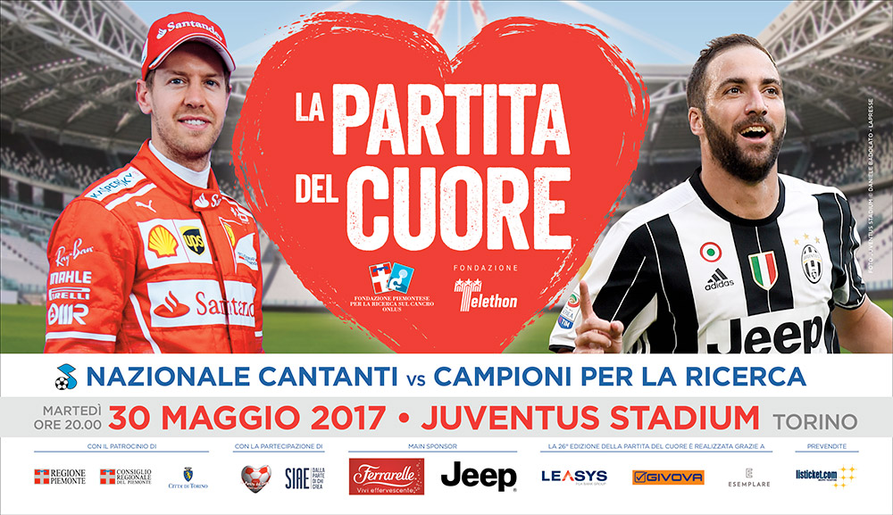 Photo of Partita del Cuore, tutto esaurito allo Juventus Stadium