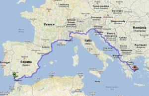 Eurovelo 8: passa da Torino la ciclabile del Mediterraneo