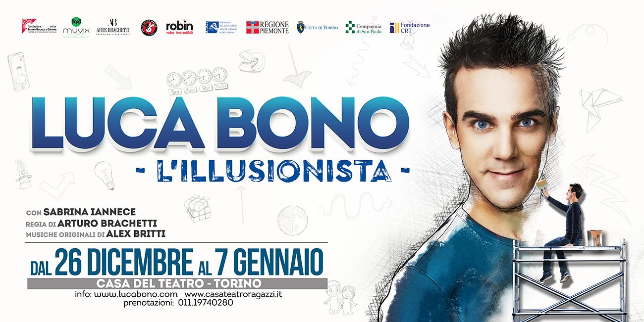 Photo of A Torino il primo show di Luca Bono, l'illusionista che fa parlare la magia