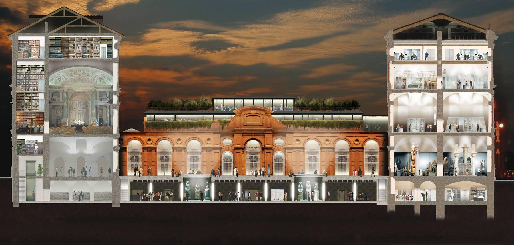 1 Aprile 2015: inaugurazione del nuovo Museo Egizio di Torino