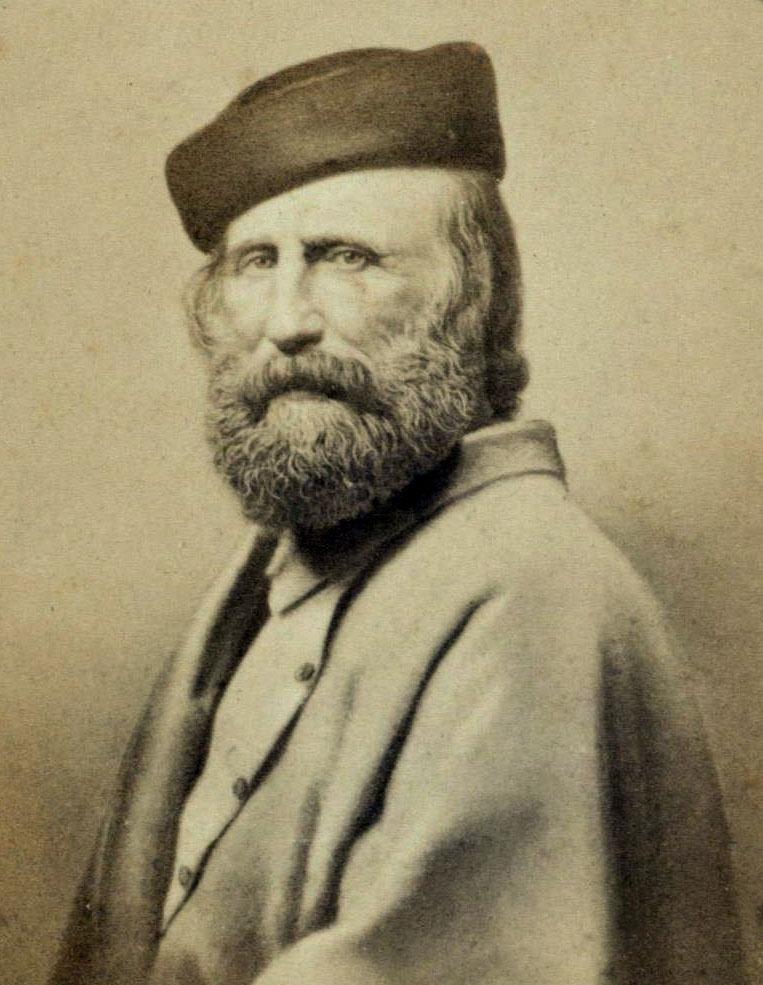 Foto di Giuseppe Garibaldi anziano