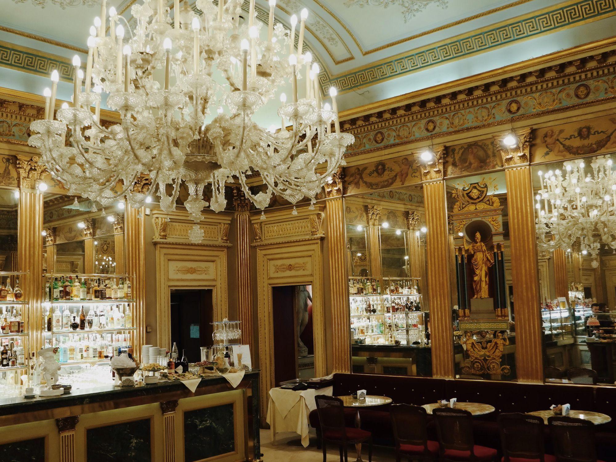 interno caffè San Carlo Torino