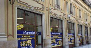 Negozi storici, a Torino chiudono Buffetti, Vergnano, Bressano calzature e Magazzini Bigi