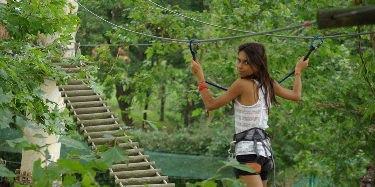 Photo of Riapre Anthares World, il parco avventura con il ponte tibetano e attività di canoa e arrampicata sugli alberi