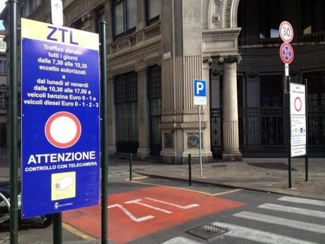 Nuova Ztl a Torino, previsto un software leggi targhe: costerà un milione di euro