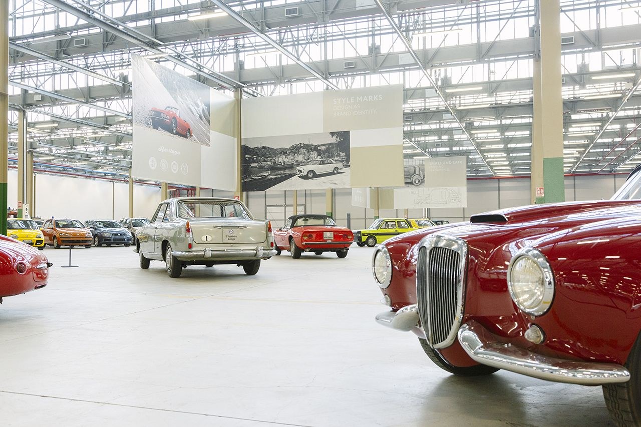 Photo of Nasce FCA Heritage Hub, in mostra oltre 200 auto d'epoca a marchio Fiat, Lancia e Abarth