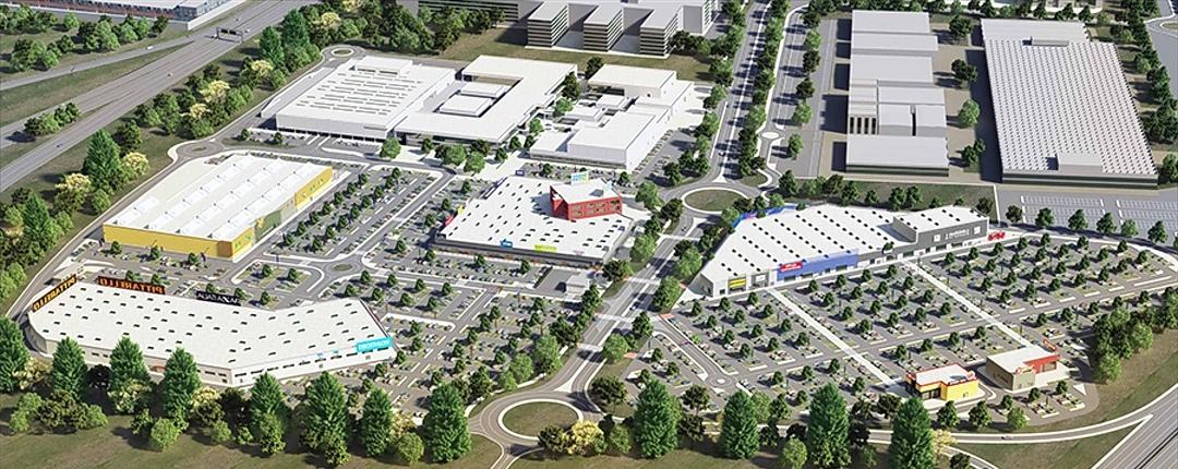 Settimo Torinese, inaugurato l'ampliamento di Settimo Cielo Retail Park: è il più grande parco commerciale d'Italia