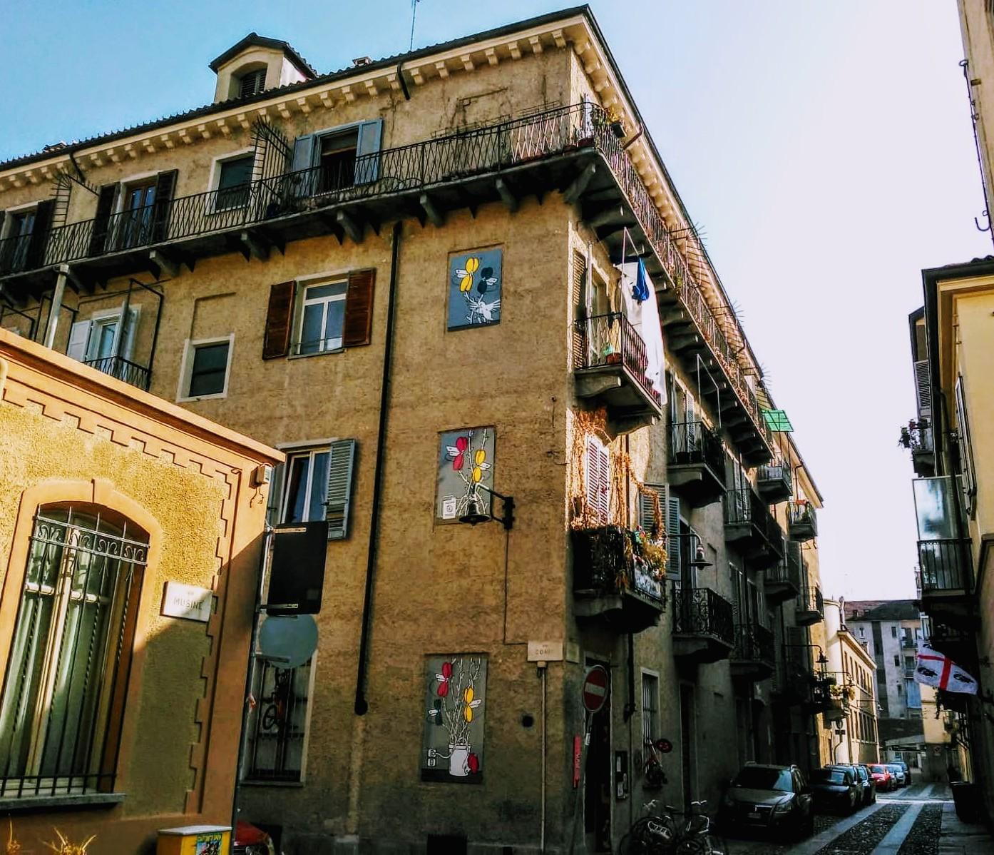 Le case in borgata Campidoglio: da ciabòt a Museo d'Arte Urbana, delle meraviglie di cui ci parla la nostra House Hunter Laura Polesinanti