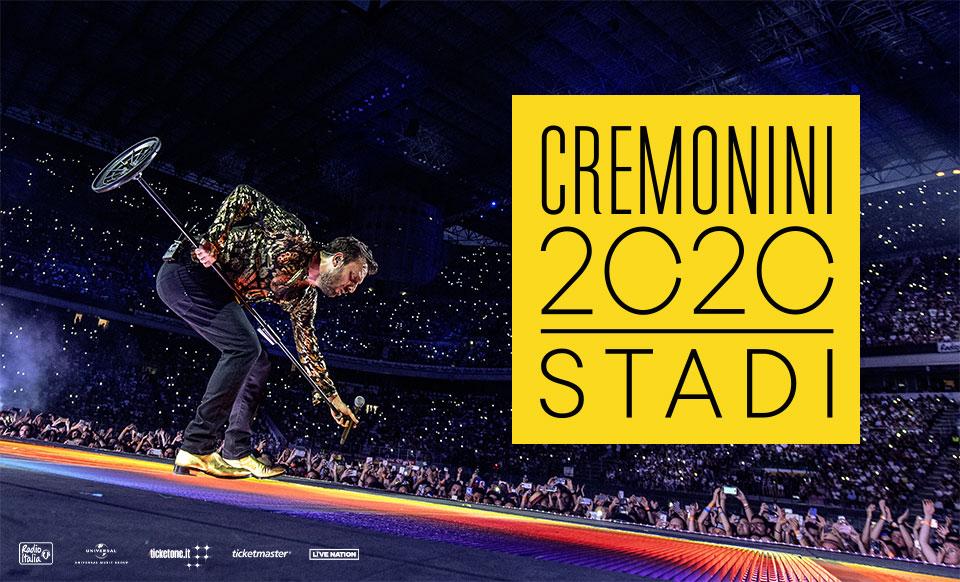 Photo of Cesare Cremonini a Torino nel 2020: il cantante annuncia il nuovo tour negli stadi