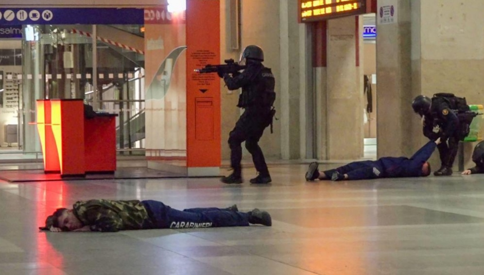 """Photo of """"Attacco terroristico a Porta Nuova"""": nella stazione torinese esercitazione antiterrorismo"""