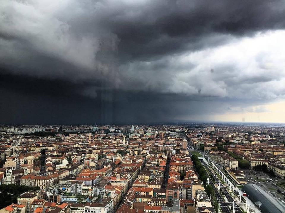 Meteo, a Torino e in Piemonte è stata diramata l'allerta gialla per i forti temporali