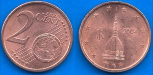 Quei centesimi con la Mole che valgono 2500 euro: un tesoro nato da un errore