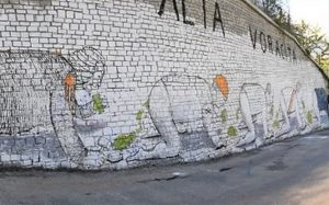 "Arriva ""Street Art in Blu"", la mostra di Banksy a Torino"