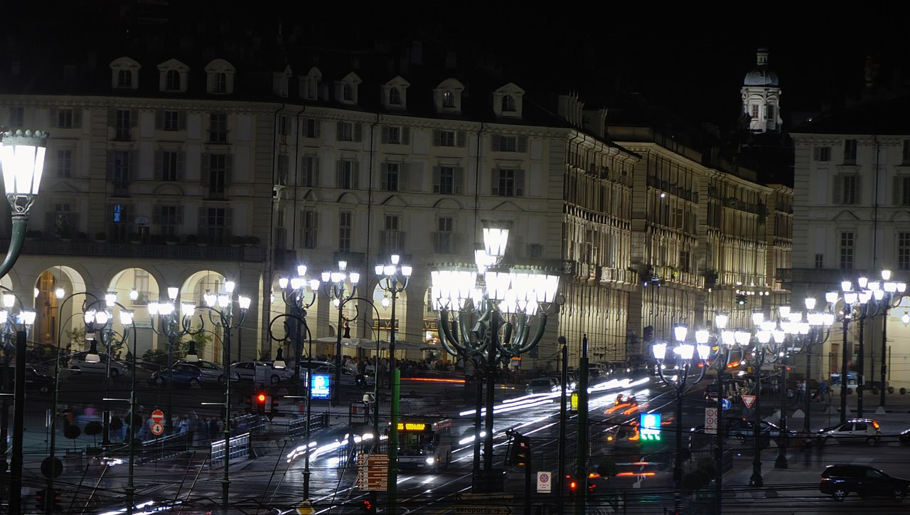 Semafori e lampioni led a Torino
