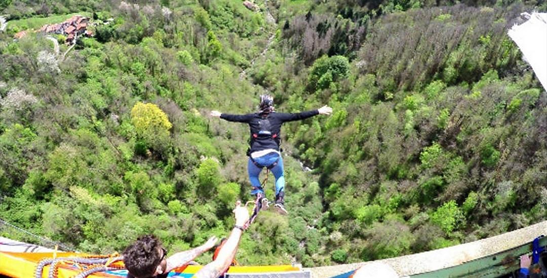 Bungee Jumping Center in Piemonte: il primo in Italia a meno di 100 km da Torino