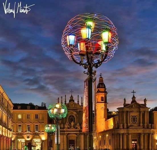 Tornano le Luci d'Artista a Torino: nuova installazione nel salotto della città