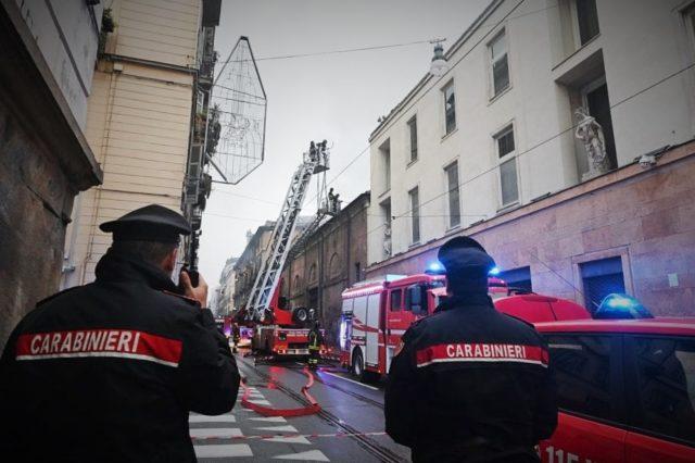 Cavallerizza Reale di Torino incendio