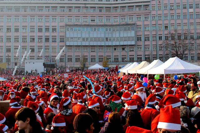 Raduno Babbi Natale Torino 2019