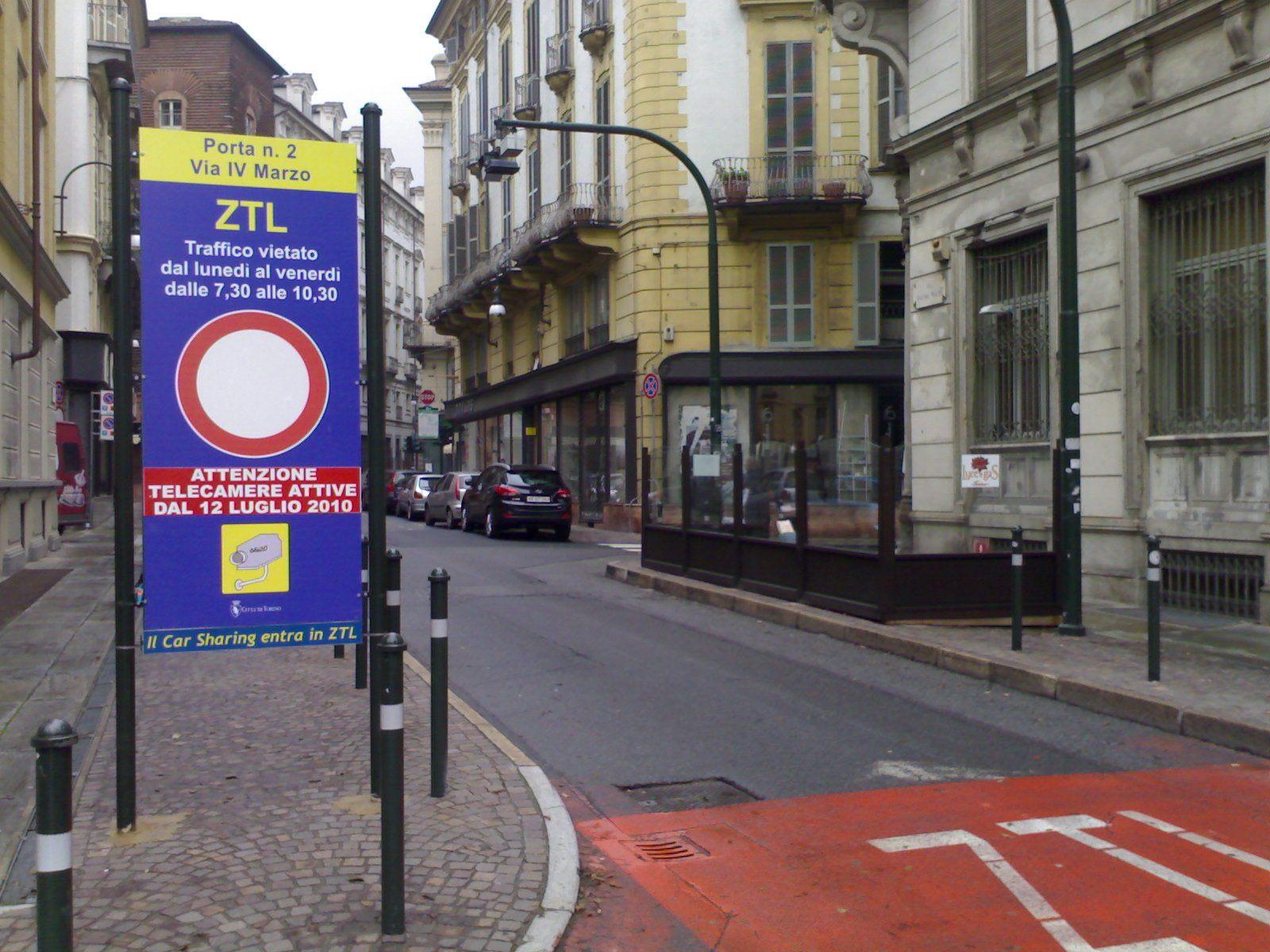 Nuova Ztl a Torino, il Comune andrà avanti anche senza i privati
