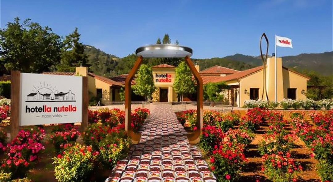 Photo of Apre negli USA l'hotel dedicato alla Nutella: si chiamerà Hotella Nutella