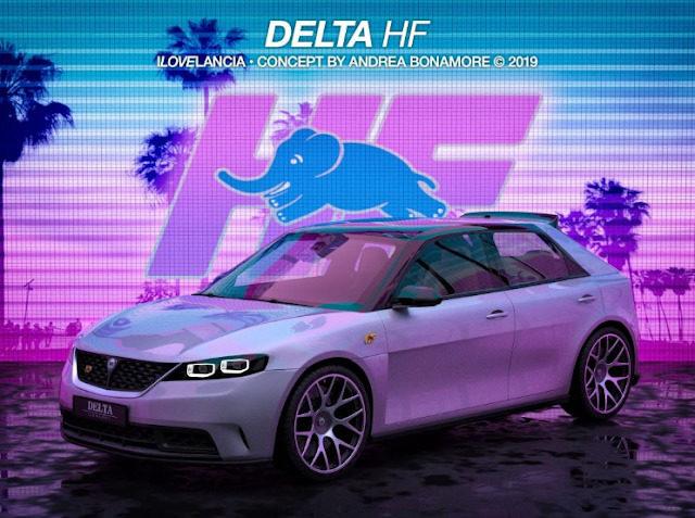 Fusione FCA-PSA, una nuova Lancia Delta in arrivo? Un render della possibile versione