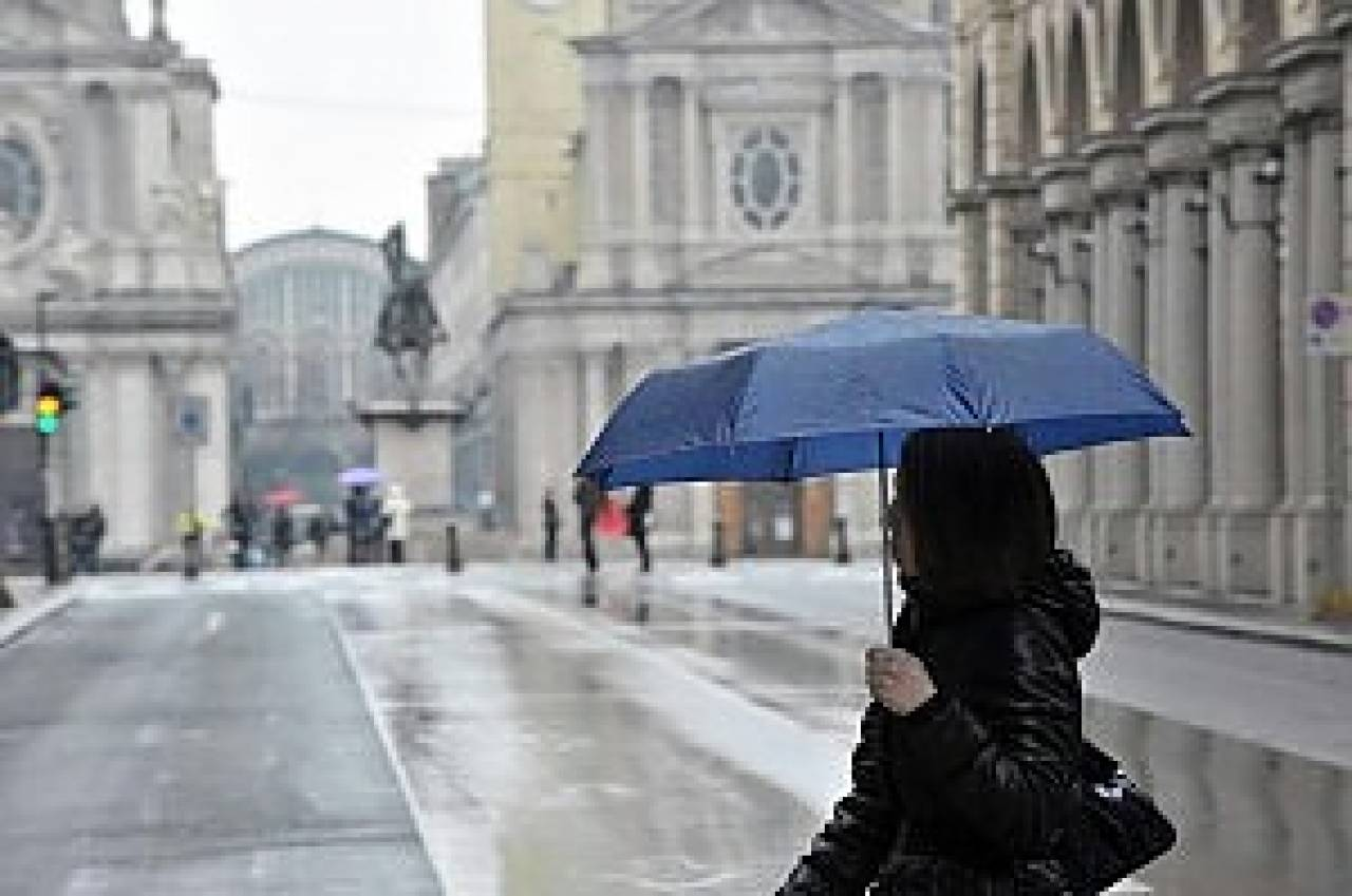 Meteo, a Torino un'altra settimana di tempo instabile: in arrivo piogge intense