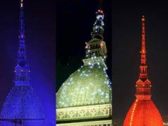 La Mole Antonelliana cambia di nuovo colore per Capodanno