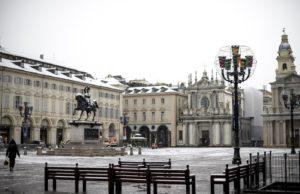 Meteo, a Torino arriva la neve: altre nevicate fino alla Vigilia di Natale