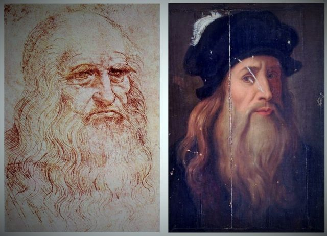 Autoritratto Leonardo Torino