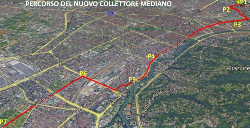 Tunnel anti-alluvione Torino