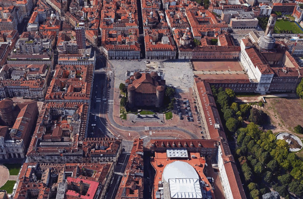Piazza Castello Capodanno Accesso
