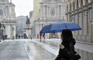 Meteo, a Torino un Natale con piogge e caldo anomalo: torna l'autunno in città