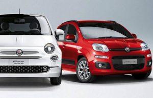 FCA lancia Fiat 500 e Fiat Panda in versione ibrida: novità da febbraio
