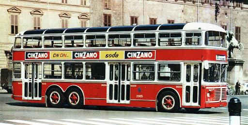 Autobus a due piani Torino