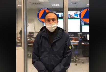 Alberto Cirio Piemonte Unità di Crisi