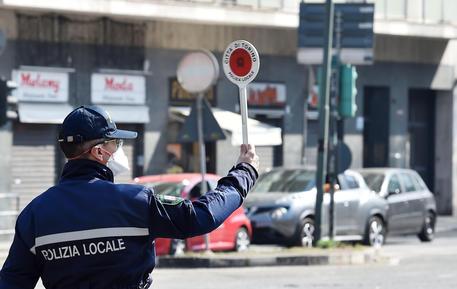 Torino Polizia Mascherina