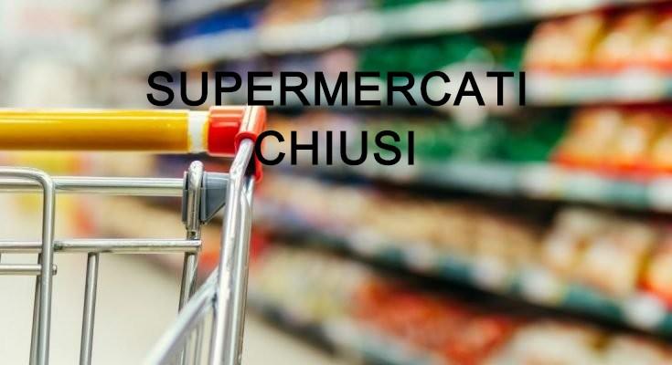 Supermercati Chiusi a Pasqua