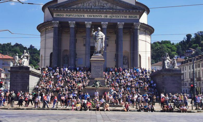 piazza vittorio frecce tricolore