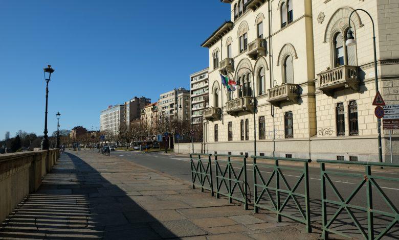 Torino lungo Po Diaz