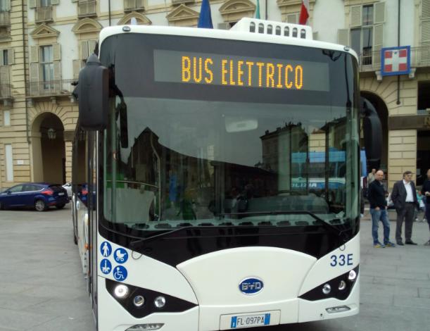 bus elettrico torino