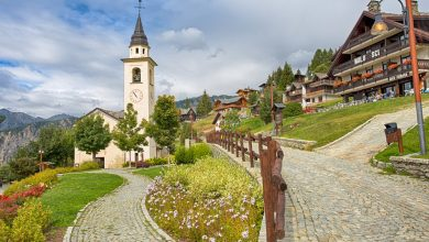 Photo of Chamois Valle d'Aosta, l'incantevole paese senza auto della Valtournenche