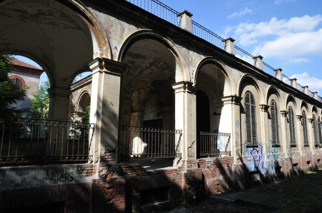 L'ex ospedale psichiatrico di Collegno.